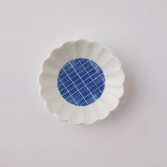 印判豆皿 たんぽぽ