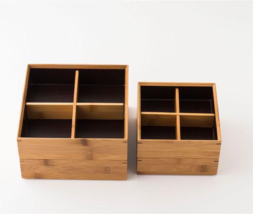 竹の重箱 二段重
