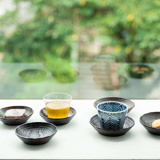 沢栗 山皿