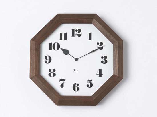 八角の時計