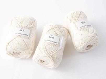 シルク編みキット シルク糸のみ(3玉)