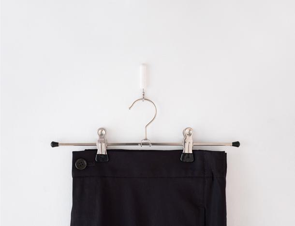 スカートクリップ 2本セット (ブラック)