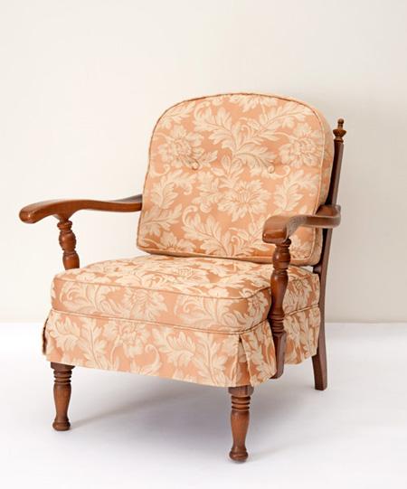 だんだんふやしていく椅子(両肘椅子) フィオレ ピンク