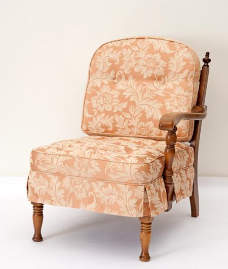 だんだんふやしていく椅子(片肘椅子) フィオレ ピンク