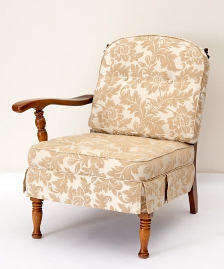 だんだんふやしていく椅子(片肘椅子) フィオレ ホワイト