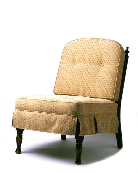 だんだんふやしていく椅子(肘なし椅子) ベージュドット