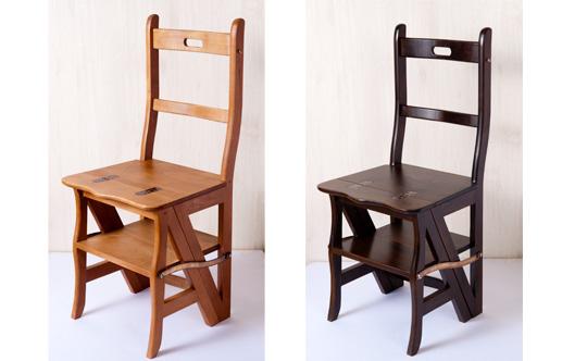 巴里のちいさな椅子 ライトブラウン/ダークブラウン