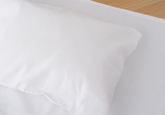 保多織ピローケース ホワイト