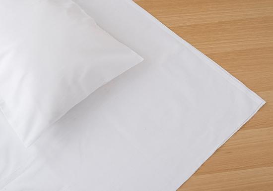 保多織和布団用シーツ シングル(ホワイト)