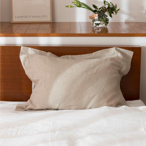枕カバー 額縁式 生成