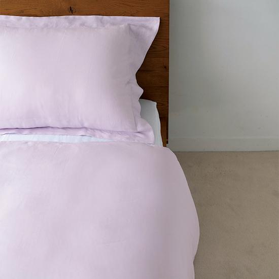 リネンの寝具  ラベンダー