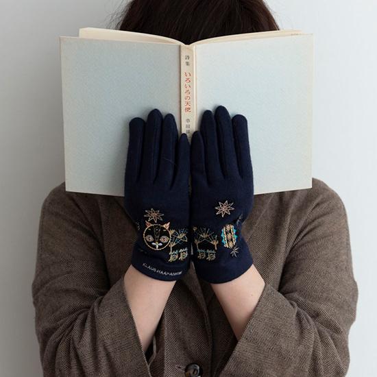 クラウス・ハーパニエミの手袋
