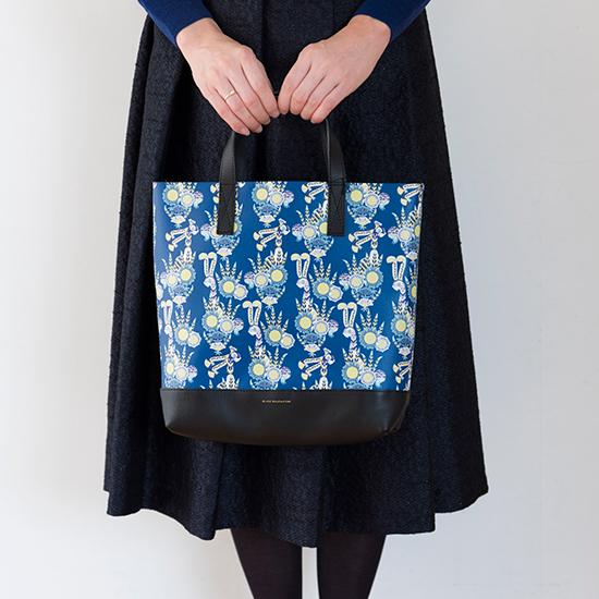 ハーパニエミのバッグ Mサイズ 青