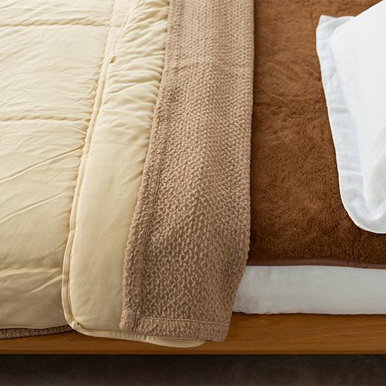 キャメルの寝具