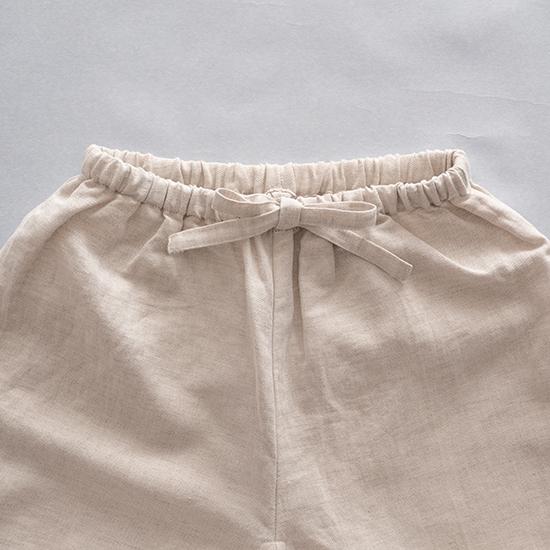綿麻のパジャマ