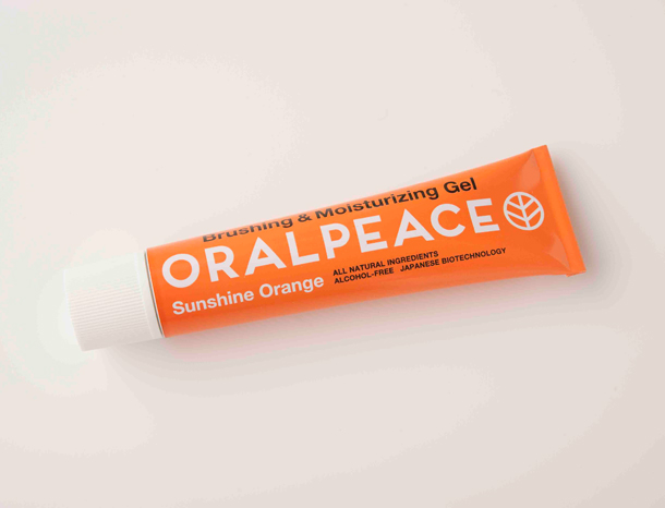 オーラルピース 歯磨きジェル オレンジ