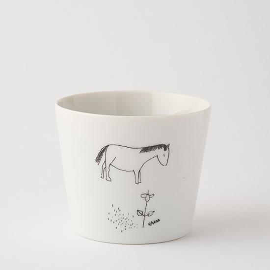 花森安治のフリーカップ 子馬
