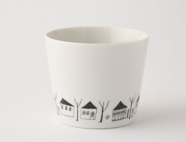 花森安治のフリーカップ 家