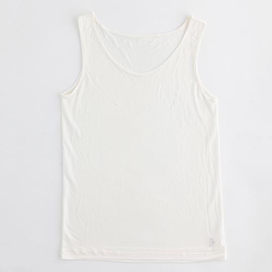 マリーネのシルク肌着 タンクトップ ホワイト