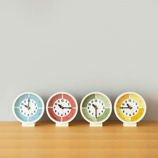 ふんぷんくろっく カラー 置き時計