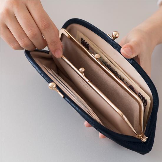 がま口財布
