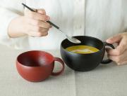 漆のマグカップ