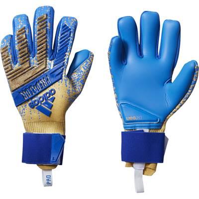 【20%OFF】adidas (アディダス) 「プレデター プロ_ゴールドメット×フットボールブルー」 キーパーグローブ FXG57_DY2593