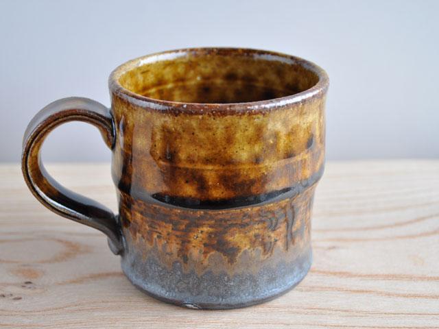 アメ釉マグカップ-1