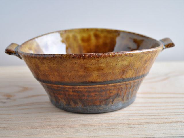 アメ釉スープカップ-1