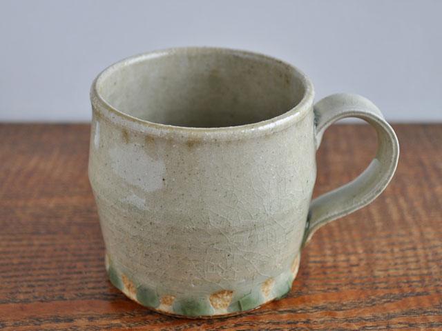 ビードロ釉マグカップ-1