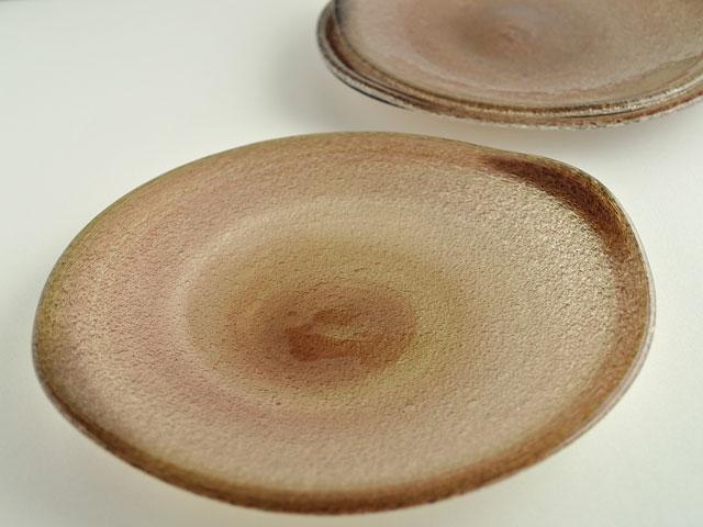 泡二玉変形皿-2