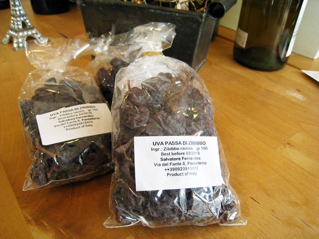 フェッランデス ウーヴァ パッサ (ズィビッポ(モスカート)の干しブドウ) 150g (賞味期限 2019/3)