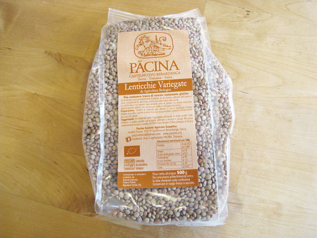 パーチナ レンティッキエ (レンズ豆) 500g