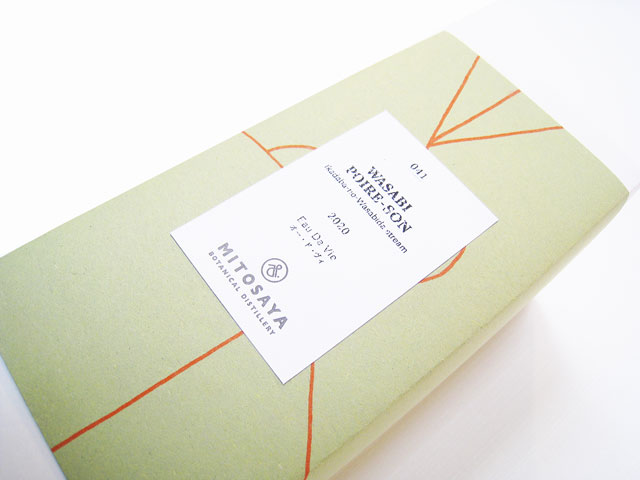 MITOSAYA ミトサヤ薬草園蒸留所 WASABI POIRE-SON ワサビ ポア-ゾン 041 500ml (※送料無料対象外)