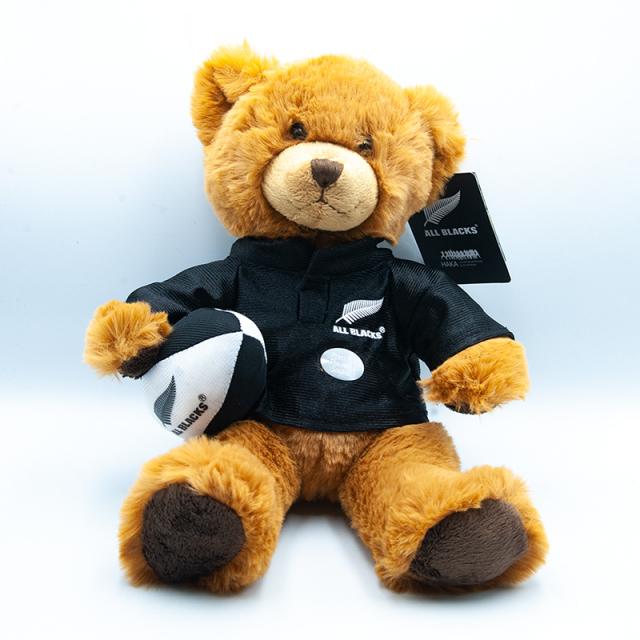 オールブラックス HAKA クラシックマスコット人形 クマ