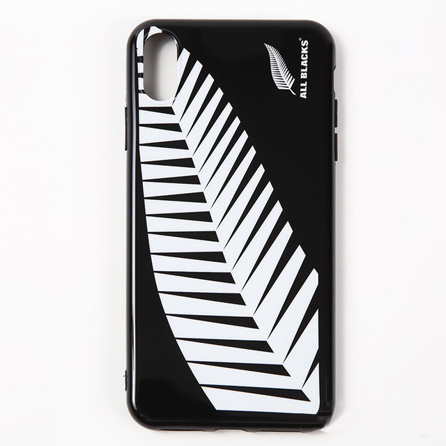 オールブラックス iPhoneケース ファーン(X/XS MAX 用)