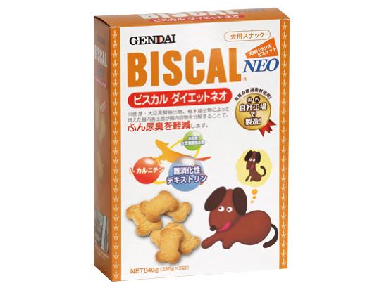 ビスカルダイエットネオ 840g  ふん尿臭軽減!肥満が気になる犬用おやつ【現代製薬】GENDAI