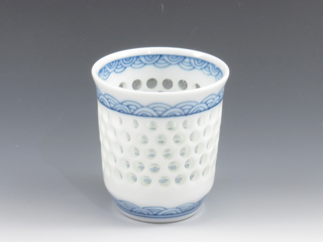 長崎県のやきもの 波佐見焼の酒器ぐい呑