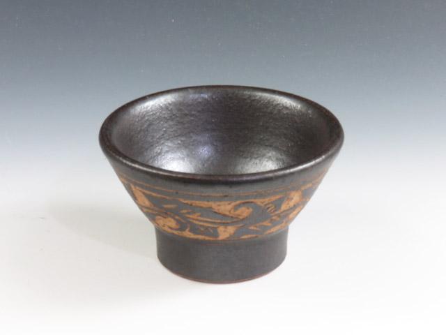沖縄県のやきもの 壺屋焼の酒器ぐい呑