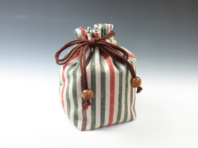 酒徒の必需品陶のぐい呑袋
