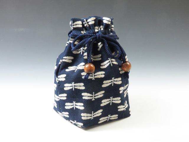 ぐい呑袋(勝ち虫蜻蛉紋)