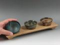 岐阜県の焼き物 小糸焼窯元の酒器 ぐい呑み