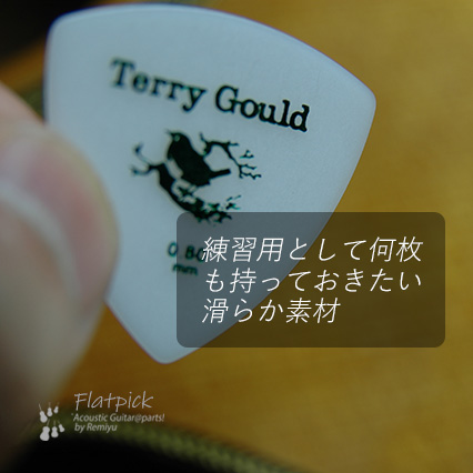 Terry Gould GP-TG-R/08 三角型 厚さ0.8mm