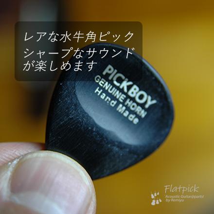 #0913  【フラットピック】  GP-HN/1  ホーン  3mm厚
