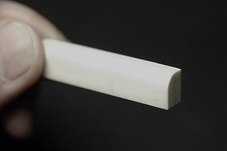 象牙 カーブ 6mmx45mmx10mm