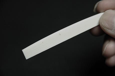 象牙 カーブ加工 3mmx75mmx9mm