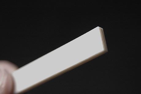 象牙 カーブ加工 3.3mmx80mmx10mm