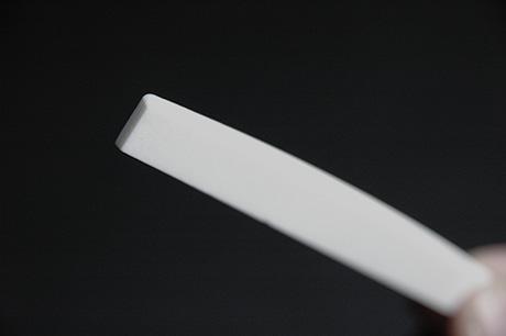 牛骨 漂白 カーブ加工 3mmx82mmx10.5mm