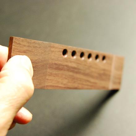 半加工 ギブソンJ45タイプ ローズウッド材 サドル溝なし 長方形 左右両用