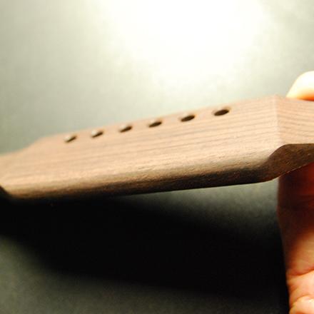 半加工 ギブソンJ45タイプ ローズウッド材 サドル溝なし 外形加工済